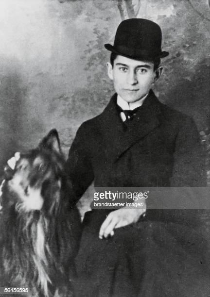 Portrait Franz Kafka Photography around 1905 [Franz Kafka Photographie um 1905]