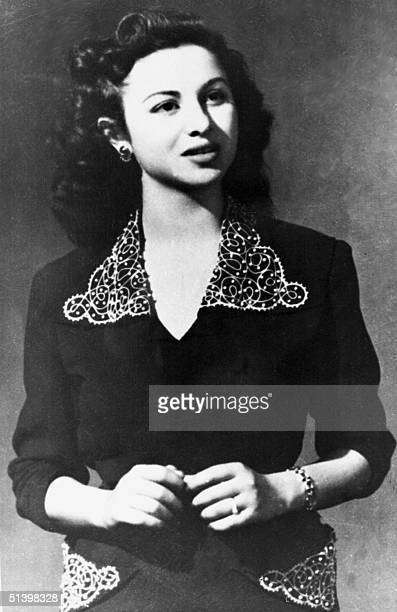 A portrait from the 1950s shows Egyptian actress Faten Hamama who first captivated audiences with the film Youm Sai'd in 1940 Hamama married director...