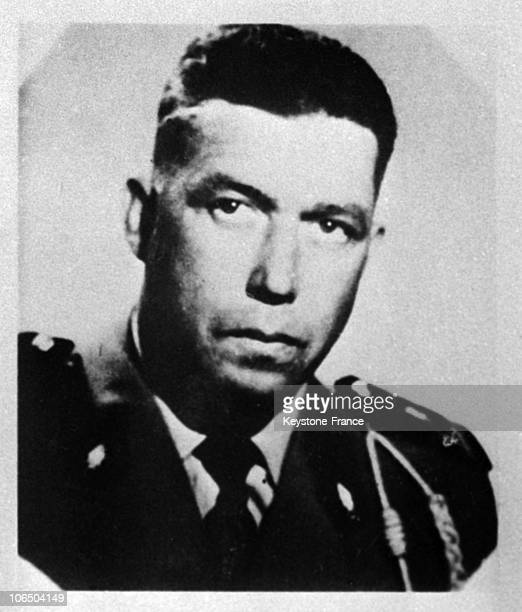 Portrait In 1961 Of The Former Lieutenant Of The First Regiment Of Foreign Parachutists Founder Of Delta Commandos Of The Oas Who Killed Hundreds Of...