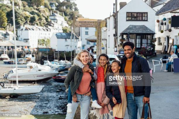 a portrait in polperro - tourist stock pictures, royalty-free photos & images
