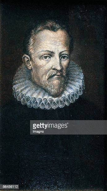 Portrait Johannes Kepler Oil on canvas around 1750 [Johannes Kepler Anonymes Gemaelde 17 Jahrhundert oel/Lwd um 1750]