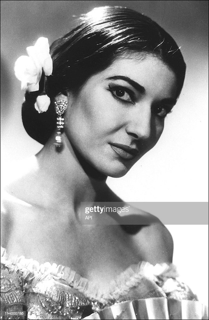 Portrait: Maria Callas In France On January 01, 1987- : News Photo