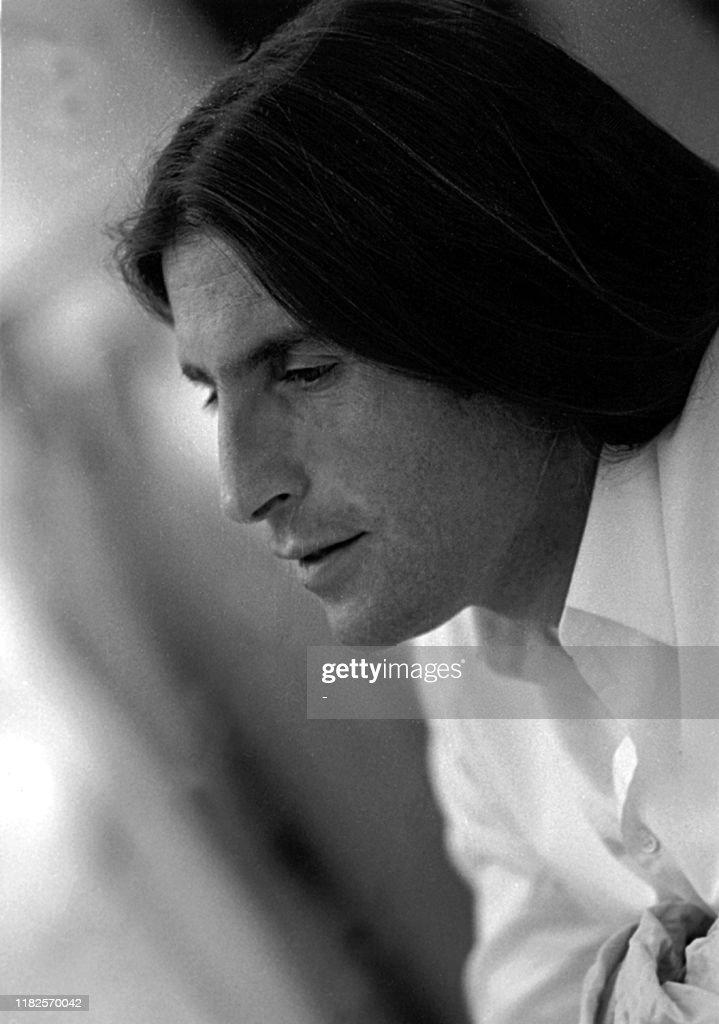 portrait non daté du créateur italien Roberto Menichetti, 37 ans, qui... News Photo - Getty Images