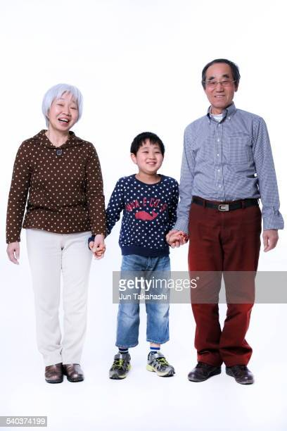 portrait o Japanese Family