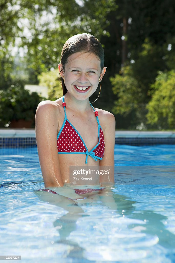 Portrait Of 10 Year Old Girl Stock Photo | Getty Images