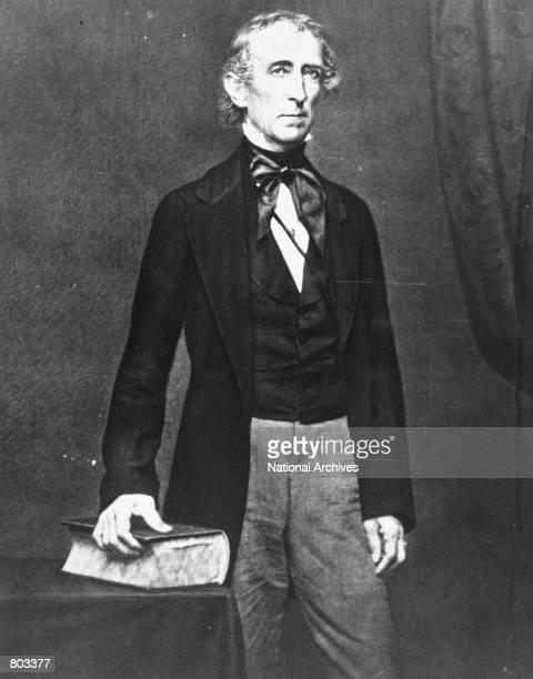 Portrait of 10th United States President John Tyler