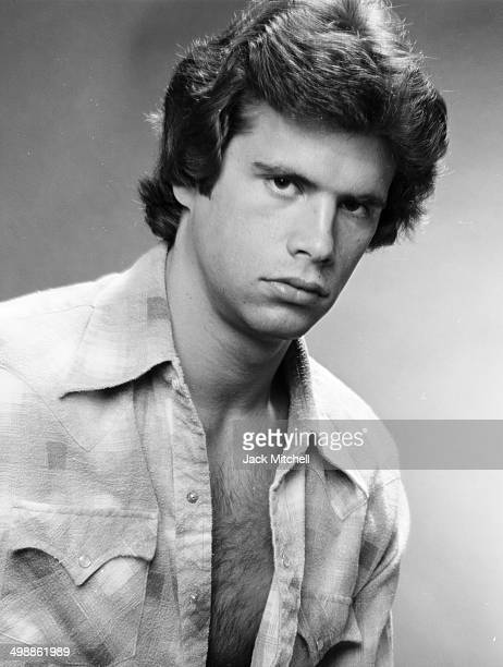 Portrait of 21yearold American actor Lorenzo Lamas 1979