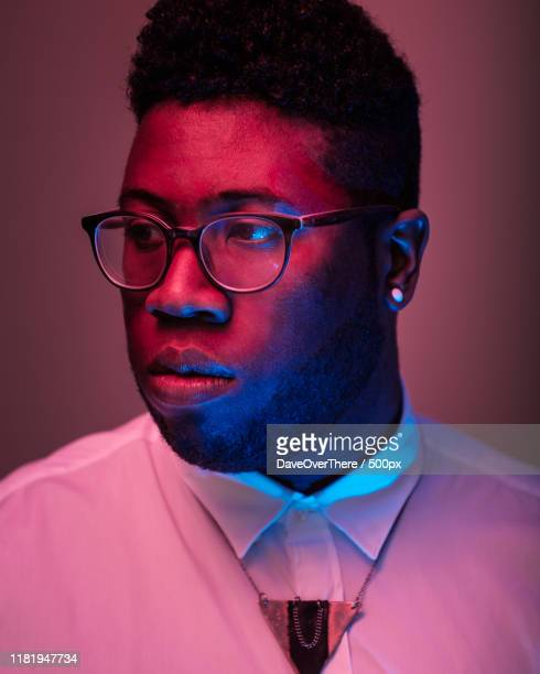 portrait of 29 year old african american man - images stock pictures, royalty-free photos & images