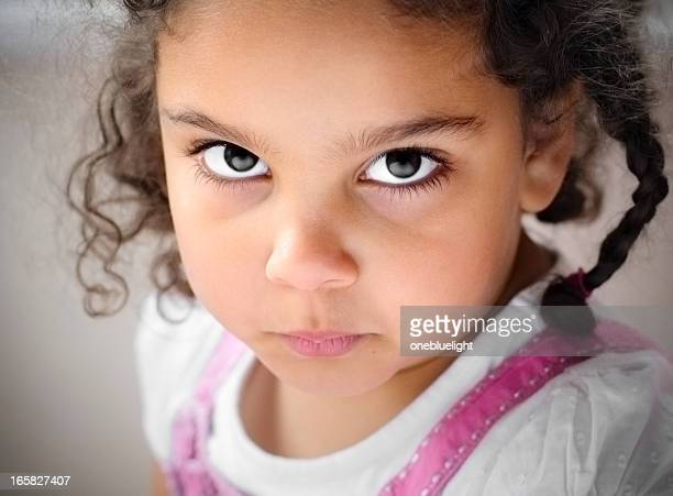 portrait of 5 years old girl, horizontal - 4 5 years stock pictures, royalty-free photos & images