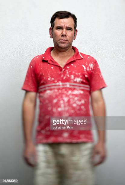 Portrait of 53 year old painter.