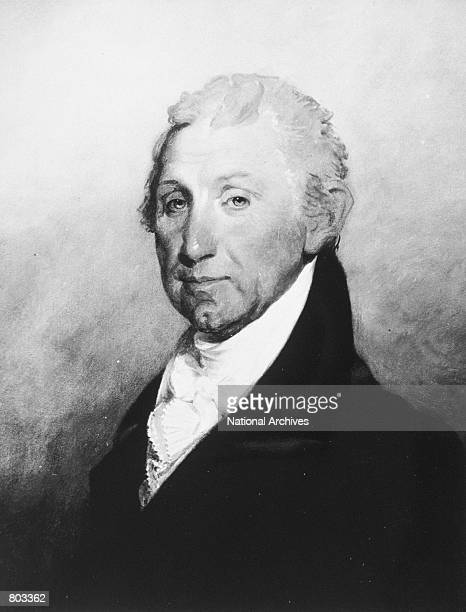 Portrait of 5th United States President James Monroe