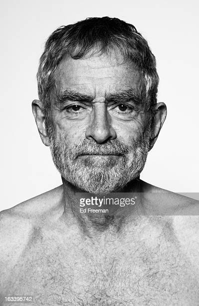 portrait of 70 year old, bearded man - 70 year old man stock pictures, royalty-free photos & images