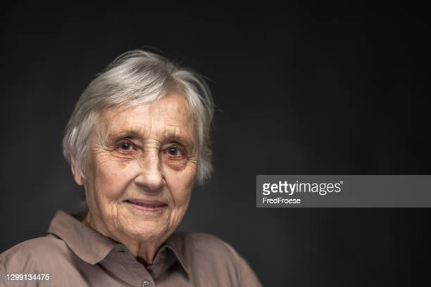 portrait of 89 year old woman - over 80 stock pictures, royalty-free photos & images