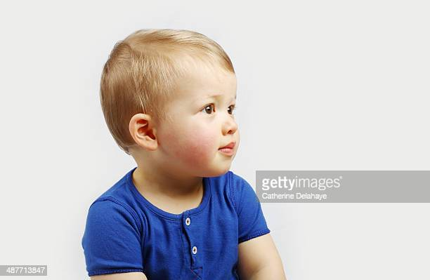 Portrait of a 18 months old baby boy