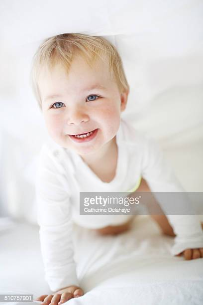Portrait of a 18 months old boy