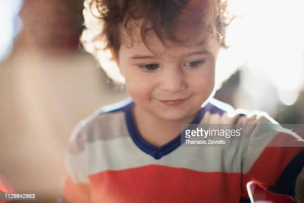 Portrait of a 2 year old boy