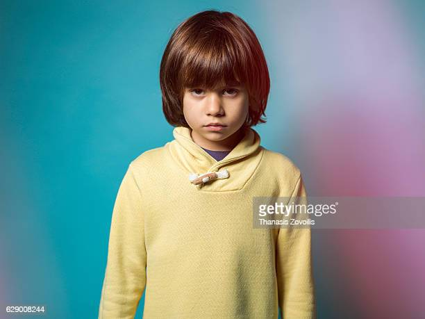 Portrait of a 5 year old boy