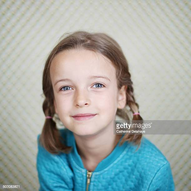 Portrait of a 7 years old girl