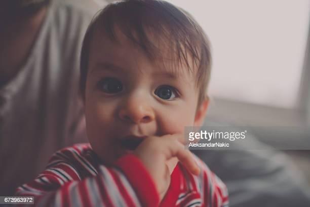 Porträt eines Babys – Jungen