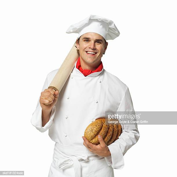 Portrait of a baker