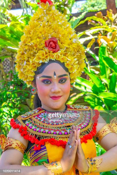 Portrait of a Balinese traditional dancer
