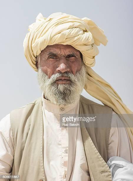 Portrait of a Baloch oldman