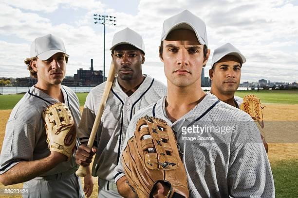 Portrait of a baseball team