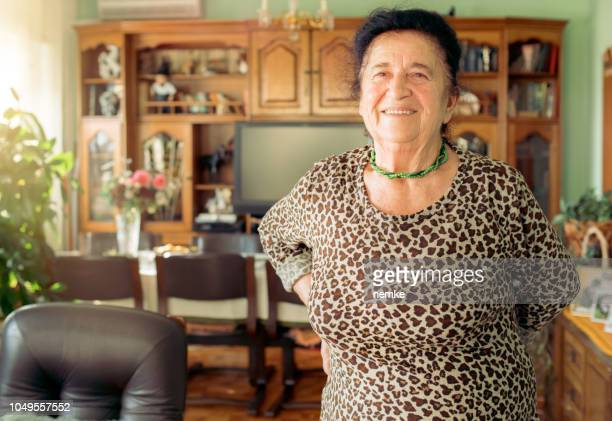 portrait of a beautiful 90 year old woman - 90 plus years stock pictures, royalty-free photos & images