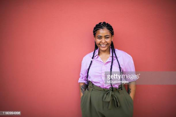 portrait of a beautiful african american teenager - chubby teen stock pictures, royalty-free photos & images