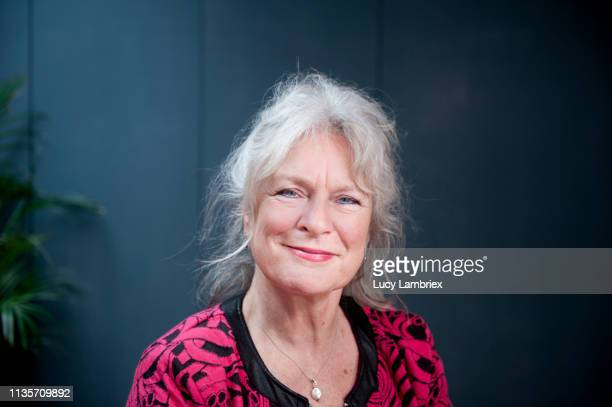 portrait of a beautiful and lively 62-year-old woman - 60 64 years stock pictures, royalty-free photos & images
