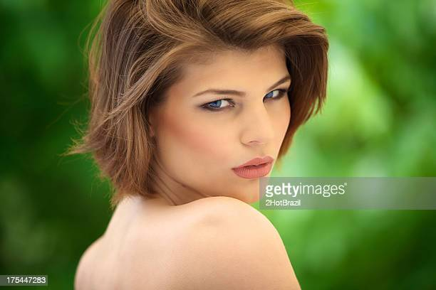 Portrait of a Beautiful and sensual woman