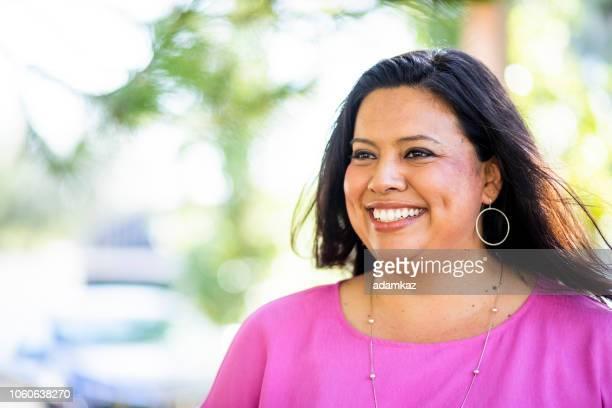 Portrait of a beautiful Hispanic Woman