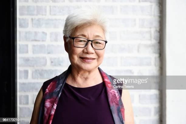 portrait of a beautiful senior malaysian woman - asian stock pictures, royalty-free photos & images