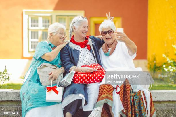 Portrait of a beautiful senior women