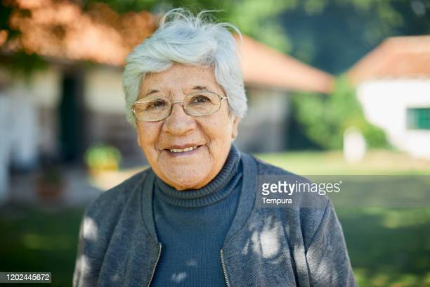 portrait of a beautiful sixty year old woman. - one senior woman only stock pictures, royalty-free photos & images