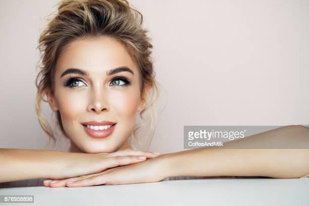 Portret van een mooie vrouw