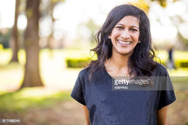 portrait of a beautiful young indian woman - indian woman stock photos and pictures