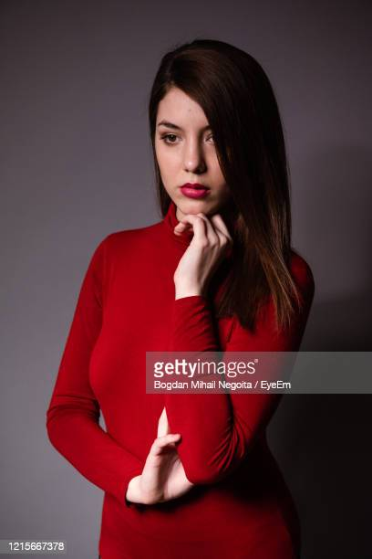 portrait of a beautiful young woman - bogdan negoita stock pictures, royalty-free photos & images