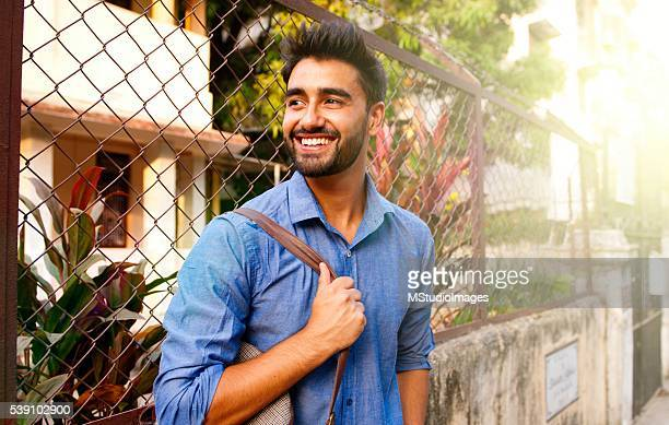 Portrait of a beautifull smiling man.