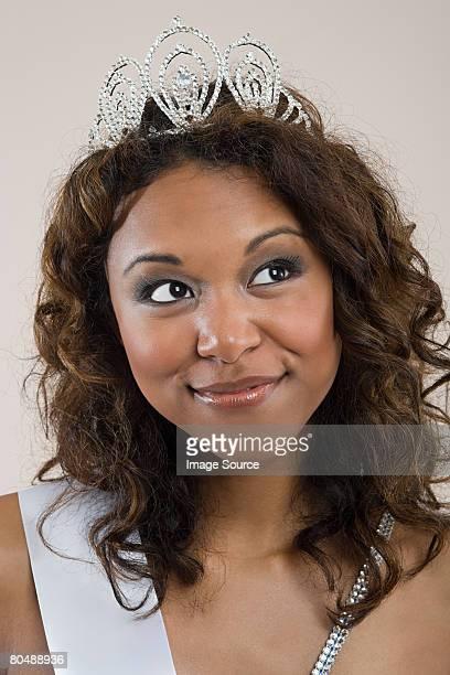 Portrait of a beauty queen