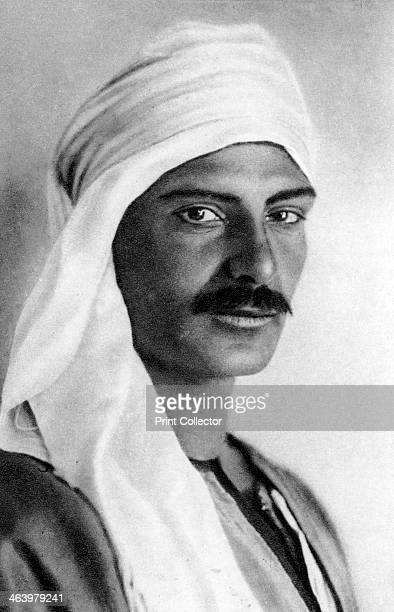 Portrait of a Bedouin c1920s Plate taken From In the Land of the Pharaohs published by Lehnert Landrock