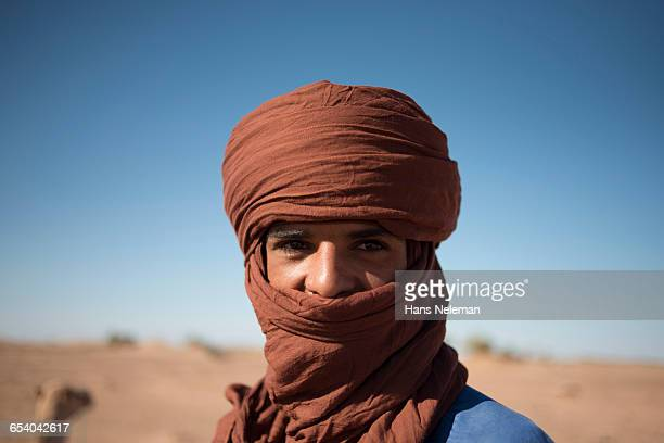 Portrait of a Bedouin, Morocco
