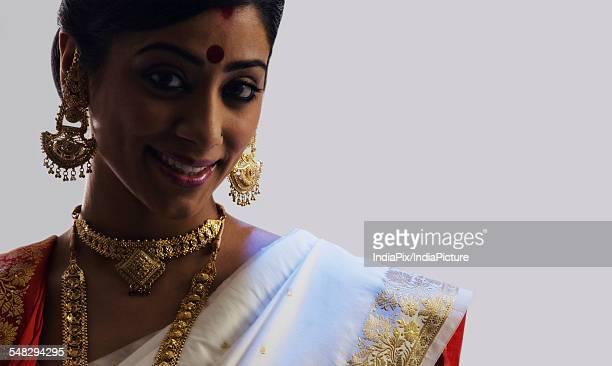Portrait of a Bengali woman
