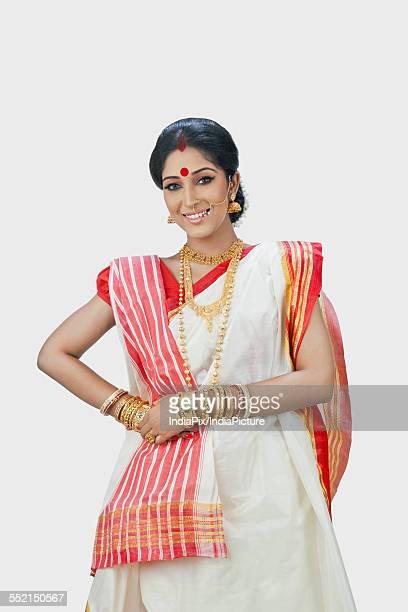 30 Top Bengali Sari Pictures, Photos, & Images - Getty Images