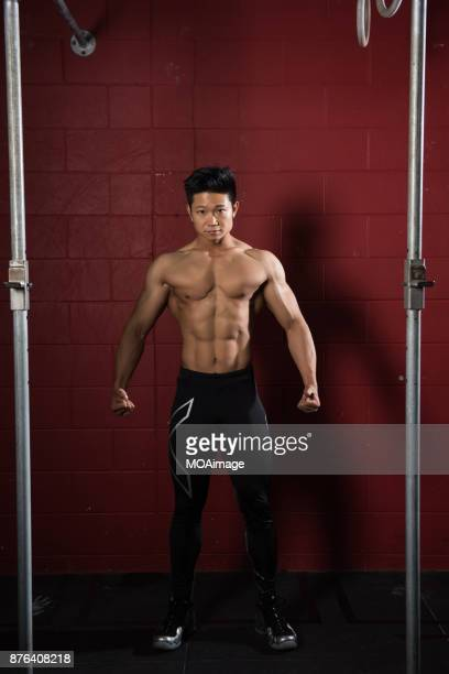 Portrait of a bodybuilder