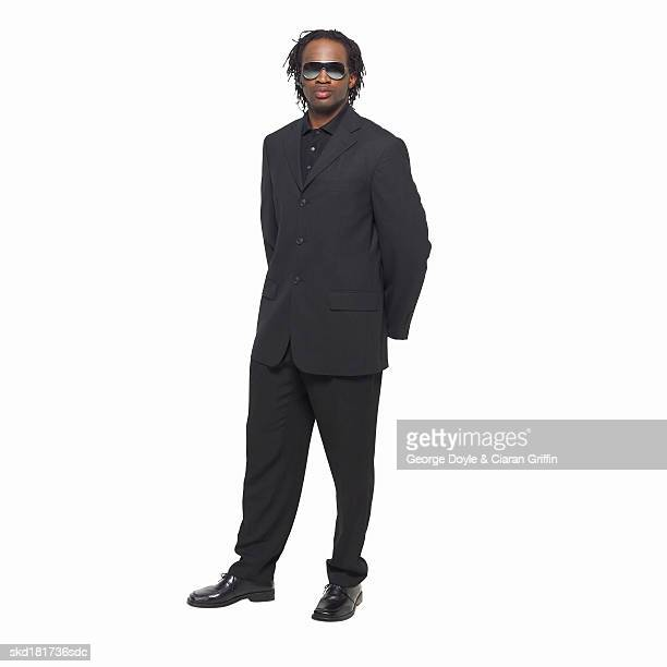 portrait of a bouncer - doorman stock photos and pictures