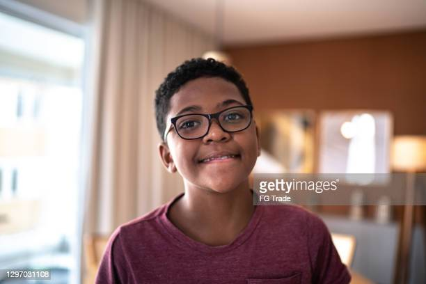 portrait of a boy at home - 11 stock pictures, royalty-free photos & images