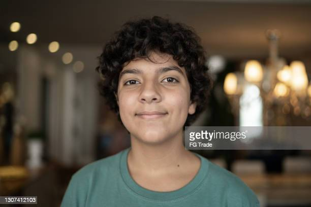 portrait of a boy at home - blank expression stock pictures, royalty-free photos & images