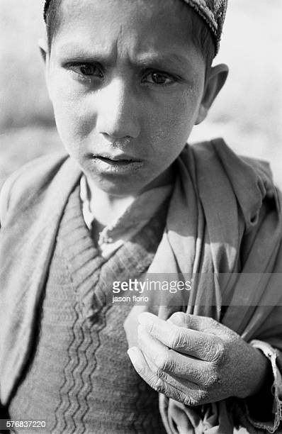 Portrait of a boy from the Kuchi nomad ethnic grouup