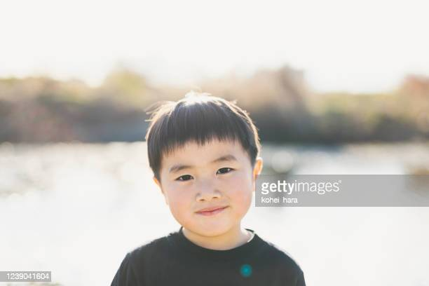 少年の肖像 - 少年 ストックフォトと画像